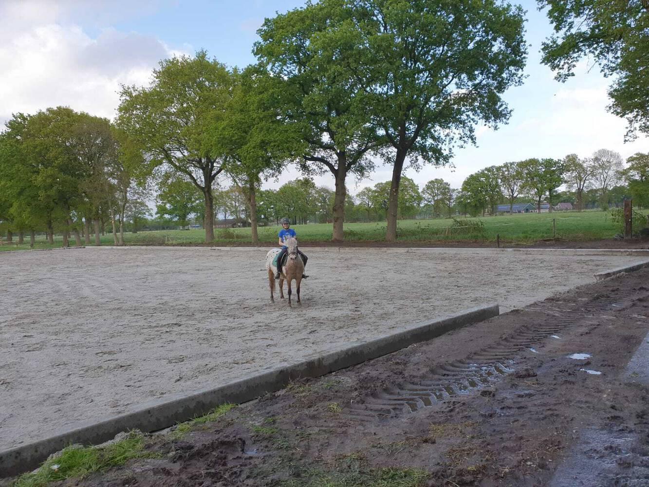 Paardenbak aangelegd in Dalen